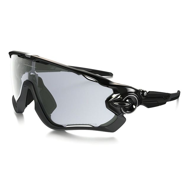 Oakley - Lunettes Jawbreaker Black à verres Clear Black Iridium  photochromiques - pas cher Achat   Vente Lunettes - RueDuCommerce 1ae35cdc86d0