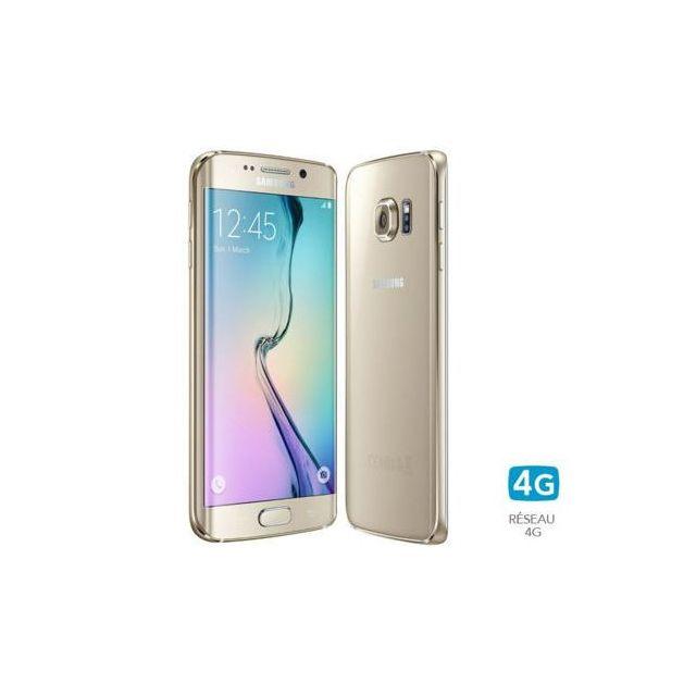 Samsung - Galaxy S6 Edge - 32 Go - Or - Reconditionné