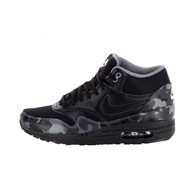 Nike Basket Air Max 1 Mid 685192 001 Noir 40 12 pas
