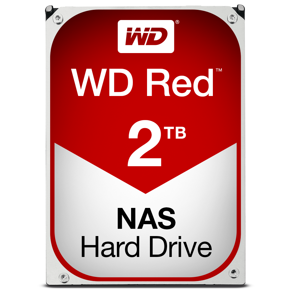 Disque dur interne WD Red 2 To 3.5'' SATA III 6 Gb/s Cache 64 Mo Western Digital
