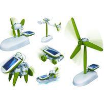 Powerplus - Kit jouet solaire 6 en 1 Chameleon