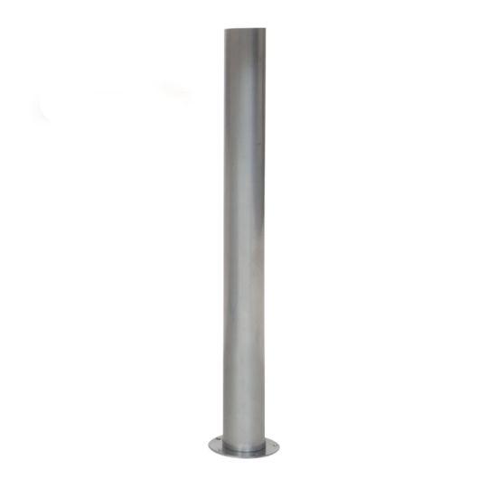 Alinéa - Timéo 2 Pied pour plateau de bureau gris H70cm