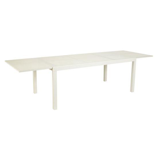 Table Tello extensible 190/300 - Taupe à Prix Carrefour