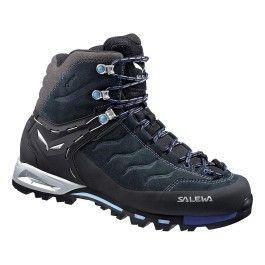 Salewa Chaussures Mtn Trainer Mid Gtx bleu femme 37 pas cher Achat Vente Chaussures grande rando RueDuCommerce