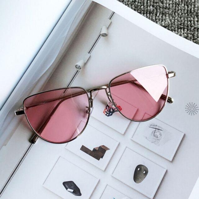 Wewoo - Lunettes de soleil rouge et rose clair New Style Fashion Uv400  lunettes de polarisées bed6c24bbdfc