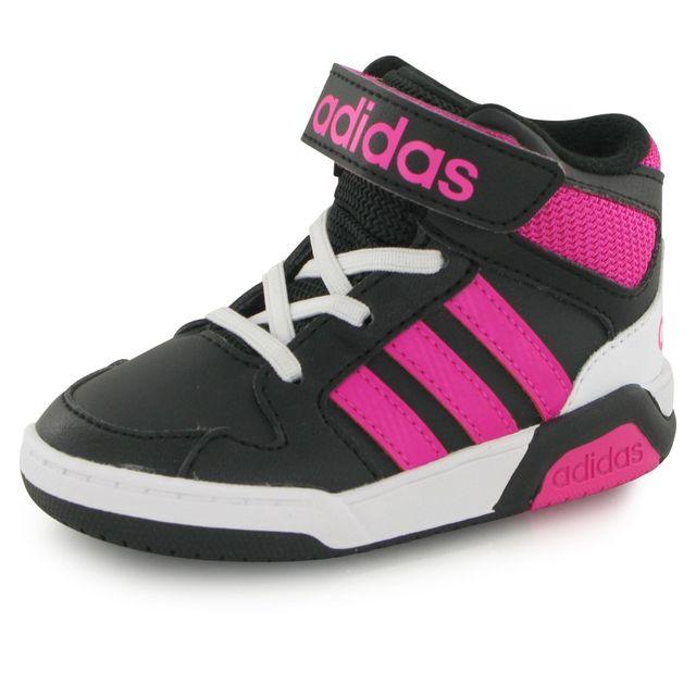 Adidas Neo Bb9tis noir, baskets mode enfant pas cher