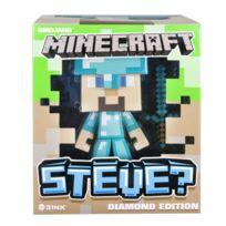 Minecraft - Figurine Edition Diamant : Steve 15 cm