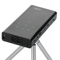 Auto-hightech - Mini projecteur vidéo de poche Hd 1080p Dlp banque d'alimentation 2500 mAh banque, 120 lumens