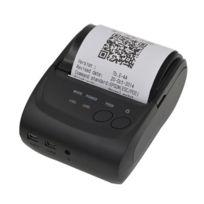 Wewoo - Etiqueteuse pour ligne thermique noir Pos-5802 Imprimante reçus Bluetooth