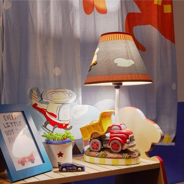 Lampe à poser enfant Transportation chevet bureau chambre bébé garçon  TD-0035AE