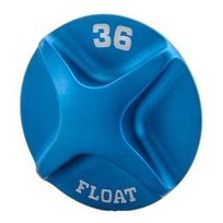 Fox Racing Shox - Bouchon air Topcap bleu 36 2014