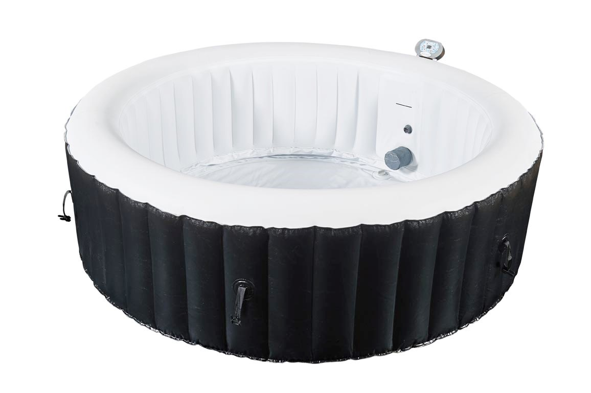 Rue du commerce spa gonflable rond 3 4 places lush for Jacuzzi hinchable carrefour