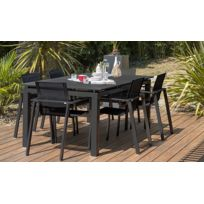Table salon jardin alu extensible - catalogue 2019 - [RueDuCommerce ...
