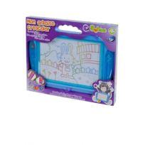 Betoys - Mon ardoise magique créacolor avec stylos et tampons bleu