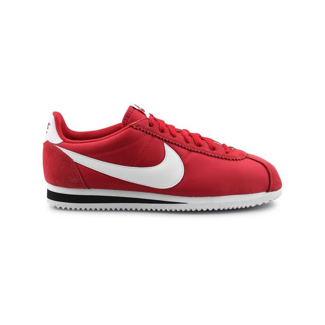 Nike Classic Cortez Achat Nylon Rouge pas cher Achat Cortez   Vente Baskets 4c9235