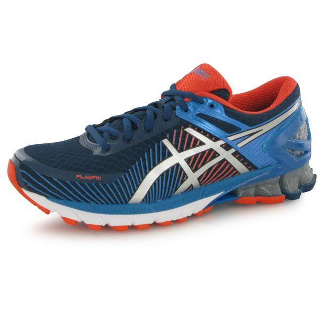 Asics - Gel Kinsei 6 bleu, chaussures de running homme - pas cher Achat    Vente Chaussures running - RueDuCommerce 51a94e2ae6a4