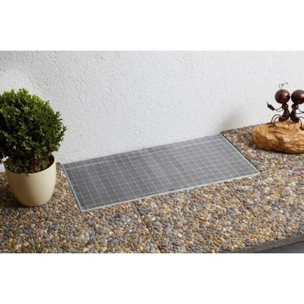 Protection pour Grille de Fenêtre de Sous-sol Standard - Inox - L120 x L60 cm