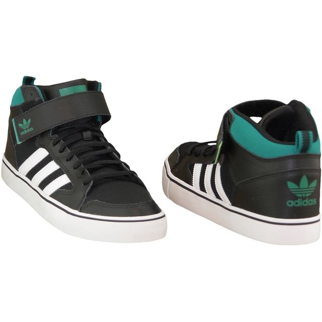 Adidas Varial Mid F37482 Homme Baskets Noir pas cher