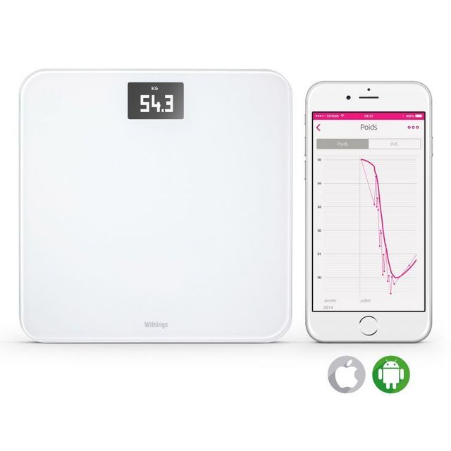 withings balance connect e wireless scale pas cher achat vente balance connect e. Black Bedroom Furniture Sets. Home Design Ideas
