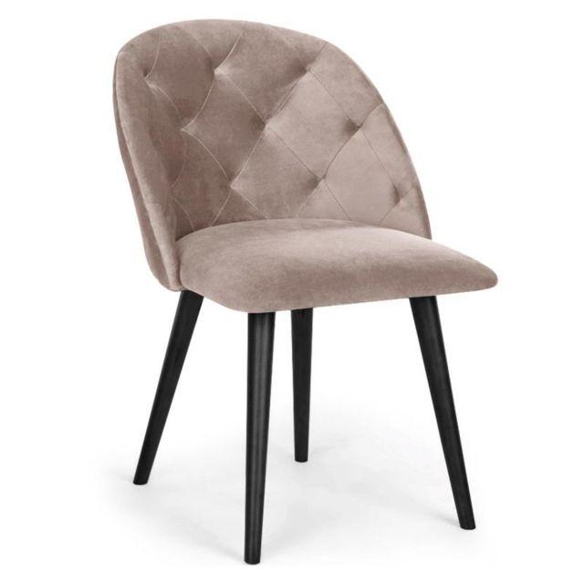 Paris Prix Chaise Design en Velours \