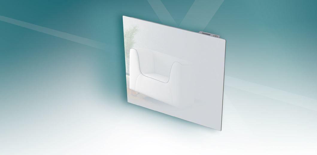 carrera radiateur inertie en fonte milo verre lcd. Black Bedroom Furniture Sets. Home Design Ideas