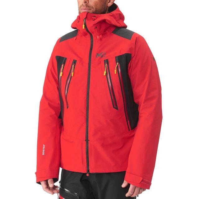design de qualité b1d7c 95d60 Millet - K Expert Gtx - Veste Homme - rouge - pas cher Achat ...