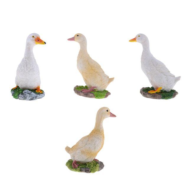 Décor Statues artificiel canard Épouvantail