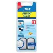 Api - Prevent Algae T1 x2, pour Dose prévention des algues - Pour aquarium