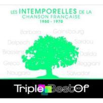 Compact Disc - Triple Best Of : Les Intemporelles De La Chanson Française 1950-1970 3 Cd