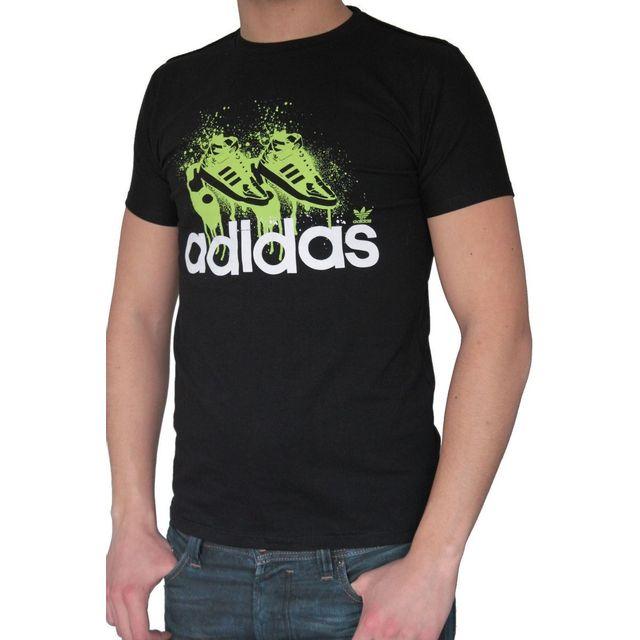 Adidas - T-shirt Originals homme manches courtes. Coupe ajustée ... a3fdb5499f9