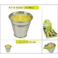 Sans   Bougie Citronnelle En Pot   Extérieur Anti Moustique Décoration   550