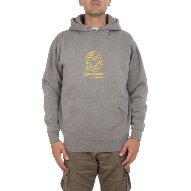 Italia Independent Homme Wmmb020071 Gris Coton Sweatshirt