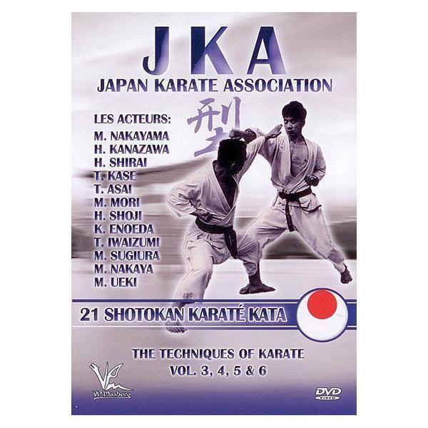 BQHL Editions Jka : Japan Karate Association - Les 21 Shotokan karaté Kata - Dvd Zone 2