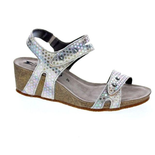 1841093c61ac0b Mephisto - Chaussures Femme Sandales modele Minoa Lilas - pas cher Achat / Vente  Sandales et tongs femme - RueDuCommerce