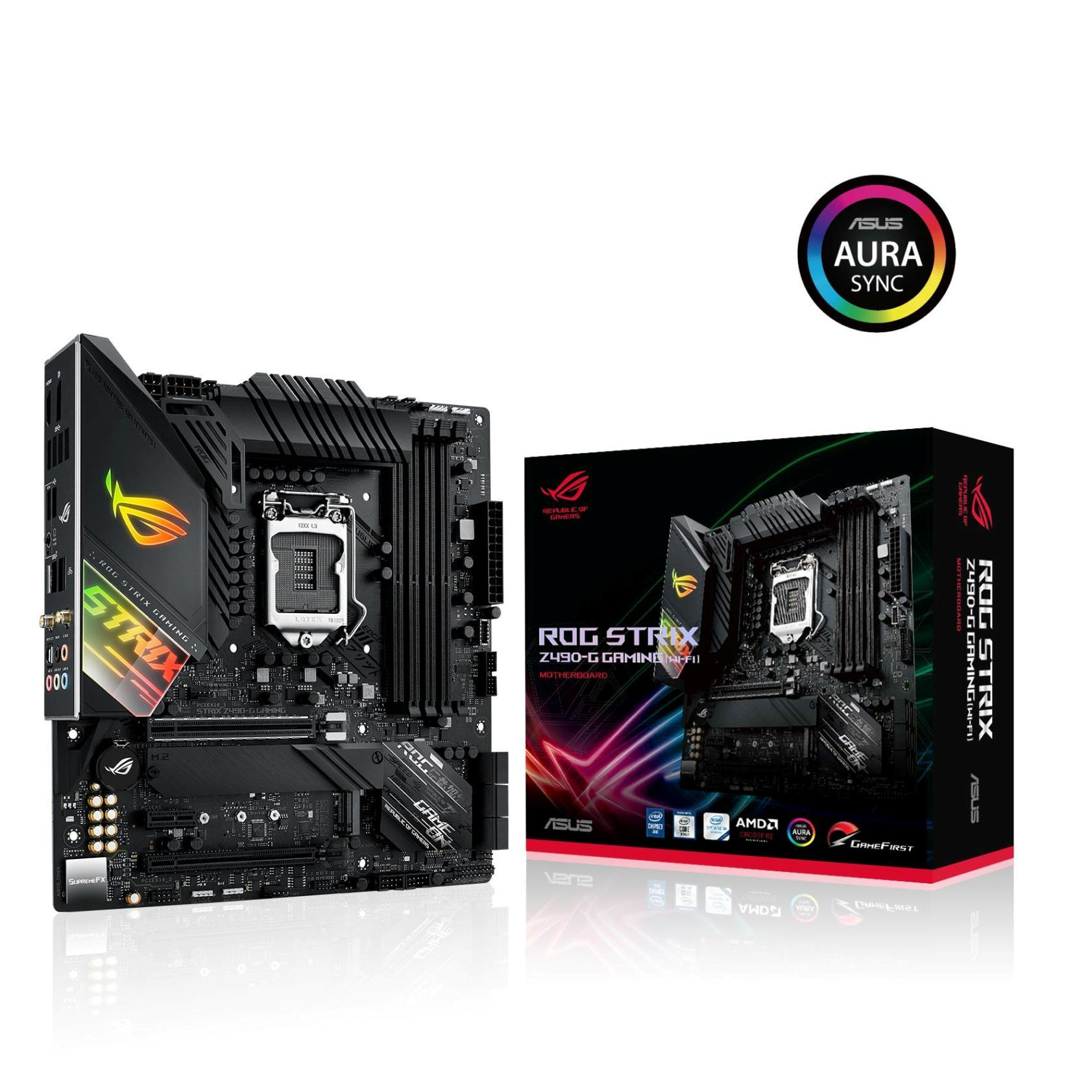 Carte mère ROG Strix Z490-G Gaming Wifi Asus