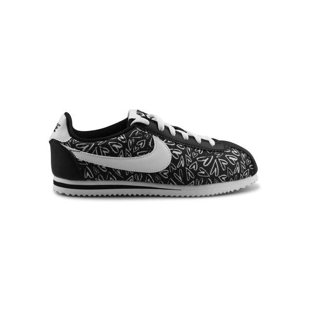 196601d14bec9 Nike - Cortez Nylon Print Junior Noir 859564-002 - pas cher Achat   Vente Baskets  enfant - RueDuCommerce