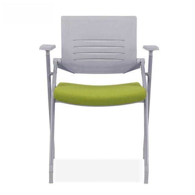 Wewoo Chaise de conférence pliante de formation de maille respirante 129A épaisse verte