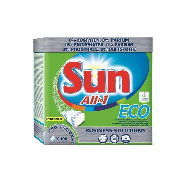 Sun produit lave vaisselle tablettes eco boite 100 for Magasin de vaisselle en ligne
