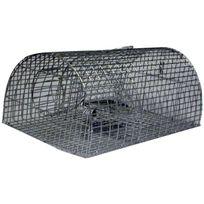 Masy - Nasse à rats Grillage zingué Dim.40 x 23 x 18cm