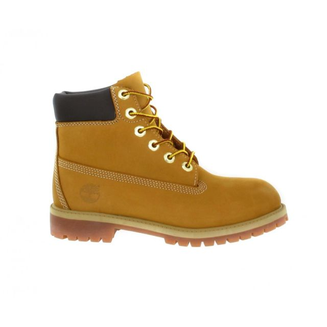 Timberland 6in Premium 12909 velours Femme 35,5 Ocre pas