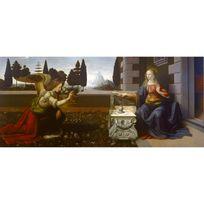 Editions Ricordi - Puzzle panoramique 2000 pièces : L'annonciation, Léonard de Vinci