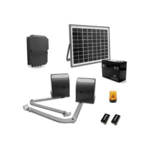 avidsen motorisation de portail a battants bras articul s mpb 500 5mx500kg kit solaire. Black Bedroom Furniture Sets. Home Design Ideas