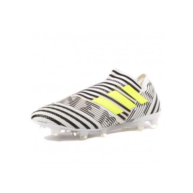 online store 99727 4c894 Adidas originals - Nemeziz 17+ 360 Agility Fg Homme Chaussures Football Noir  Blanc Adidas