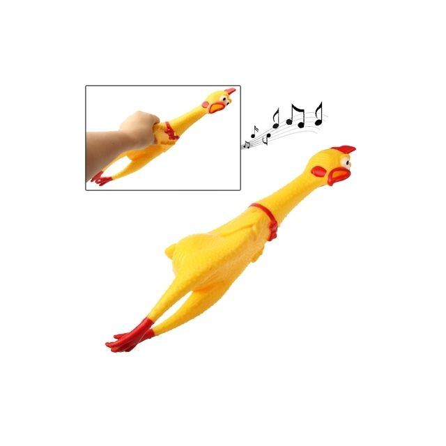 Wewoo Jeux anti stress 40cm intéressant Toy Stress-Soulagé poule crier Shrilling Poulet Relief Squeezed cadeau
