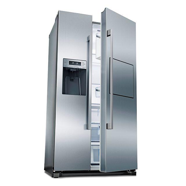 Bosch réfrigérateur américain 91cm 522l a+ no frost inox - kag90ai20