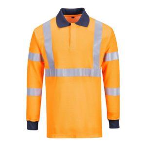 Polos à manches courtes Portwest orange homme n9H0XHpwC