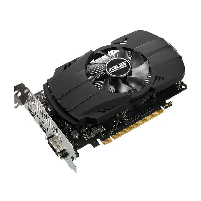 ASUS GeForce GTx 1050ti PH - 4Go DDR5 Chaque joueur mérite la meilleure expérience de jeu, c'est pourquoi nous avons créé la carte graphique GeForce® GTX 1050, aussi puissante que rapide. Transformez votre PC en v&eac