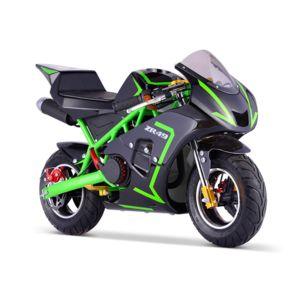 new motorz pocket course zr 49 mini moto enfant 50cc vert achat vente motos 49 pas cher. Black Bedroom Furniture Sets. Home Design Ideas