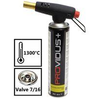 Providus - Chalumeau gaz à visser Pv 933 bouteille de gaz à valve. brasage - étamage - dégrippage. Cartouche gaz butane propane incluse