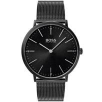 Boss Black - Montre Boss Horizon en Acier Noir